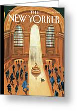Grand Central Heating Greeting Card