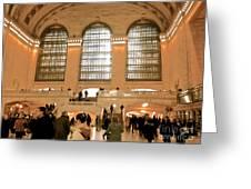 Grand Central 's Main Terminal Greeting Card