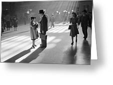 Grand Central Station 1941 Greeting Card