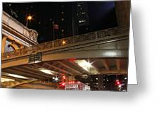 Grand Central Station At Pershing Square Greeting Card