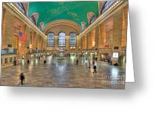 Grand Central Terminal IIi Greeting Card