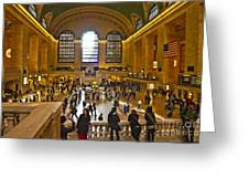 Grand Central Terminal Nyc Greeting Card