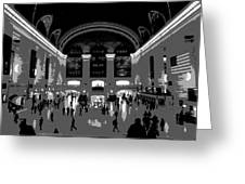 Grand Central Terminal Poster Greeting Card