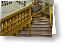 Grand Central Terminal Staircase Greeting Card