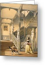 Grand Elizabethan Staircase Greeting Card