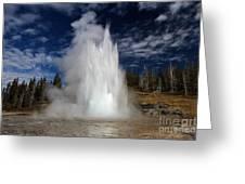 Grand Eruption Greeting Card