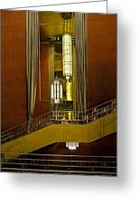 Grand Foyer Staircase Greeting Card