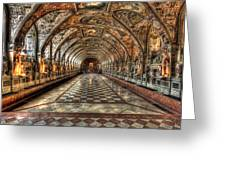 Grand Hall Greeting Card
