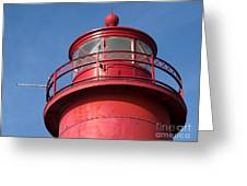 Grand Haven Red Greeting Card