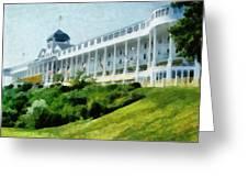 Grand Hotel Mackinac Island Ll Greeting Card