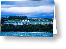 Grand Hotel Mackinac Island Greeting Card