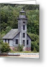 Grand Island East Channel Lighthouse Greeting Card