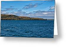 Grand Island Lake Superior Greeting Card