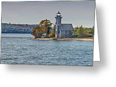 Grand Island Lighthouse. Greeting Card