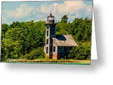 Grand Island Lighthouse Greeting Card