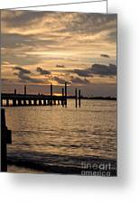 Grand Isle Sunset # 1 Greeting Card