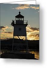 Grand Marais Mn Lighthouse 6 Greeting Card