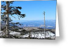 Grand Mesa Co North Side Valley View Greeting Card