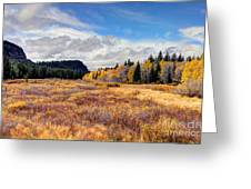 Grand Mesa Colors Greeting Card