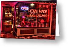 Grand Ole Creamery On Grand Avenue Greeting Card