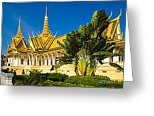 Grand Palace - Cambodia Greeting Card