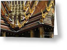 Grand Palace Bangkok Thailand 2 Greeting Card