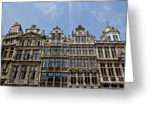 Grand Place Brussels Greeting Card