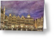 Grand Place Greeting Card