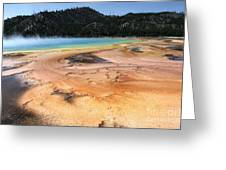 Grand Prismatic Geyser Greeting Card