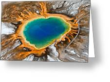 Grand Prismatic Spring II Greeting Card