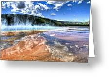 Grand Prismatic Spring - Yellowstone Greeting Card