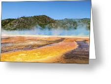 Grand Prismatic Spring - Yellowstone National Park Greeting Card