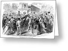 Grand Prix De Paris, 1870 Greeting Card