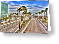 Grand Prix Of Long Beach Greeting Card