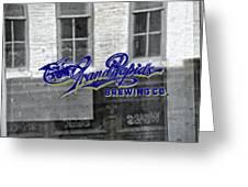Grand Rapids Brewing Greeting Card