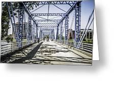 Grand Rapids Bridge Greeting Card