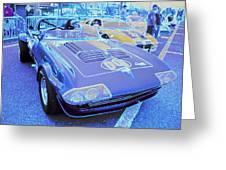 Grand Sport Corvette Greeting Card