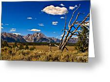 Grand Tenton Overlook Greeting Card