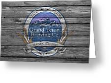 Grand Teton Brewing Greeting Card