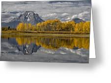 Grand Teton Gold Greeting Card