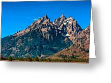 Grand Teton Mountain Greeting Card
