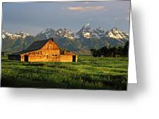 Grand Teton National Park , Wyhomestead Greeting Card