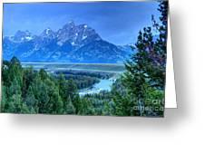 Grand Teton  - Snake River Overlook  Greeting Card