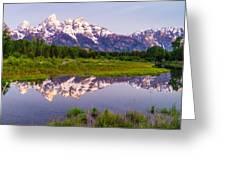 Grand Teton Reflection Greeting Card
