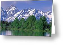 Grand Tetons National Park Wy Greeting Card