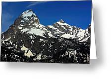Grand Tetons Wyoming Greeting Card