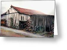 Grandaddy's Barn Greeting Card by Melodye Whitaker