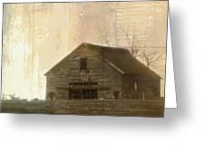 Grandfather's Barn Greeting Card