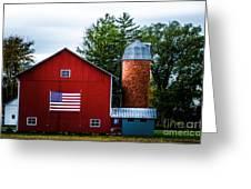 Grandfathers Barn Greeting Card