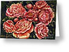 Grandma Lights Peonies Greeting Card